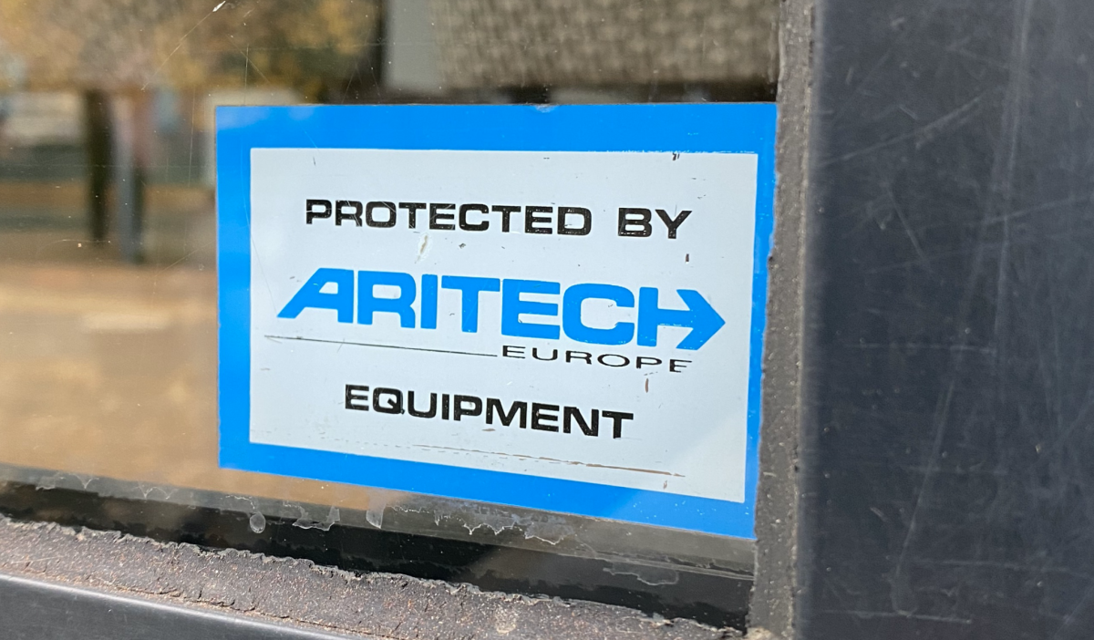 Protected by Aritech Europe Equipment