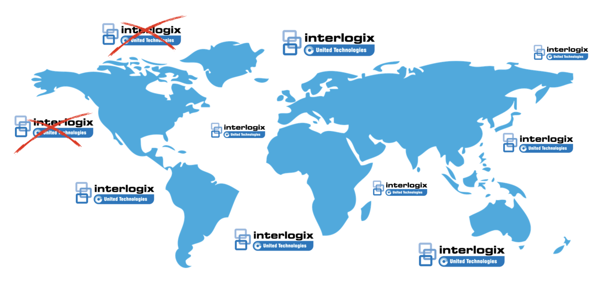 Interlogix stops in US and Canada