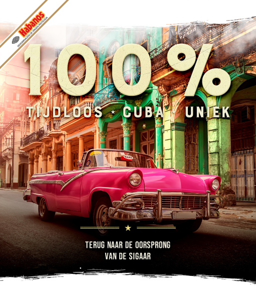 Cubaanse auto in marketingcampagne