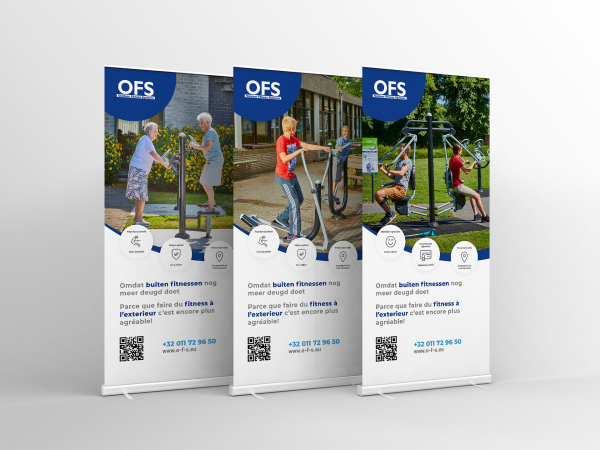 OFS roll up banners